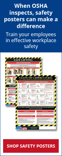 OSHA Safety Posters - Training makes a difference