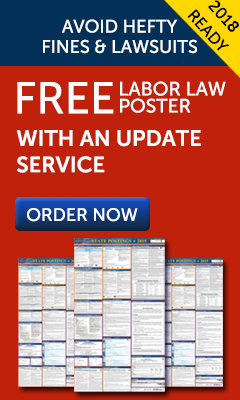 2018 Labor Law Posters