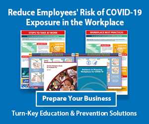 Learn how employers can reduce the risk of employee exposure to COVID-19