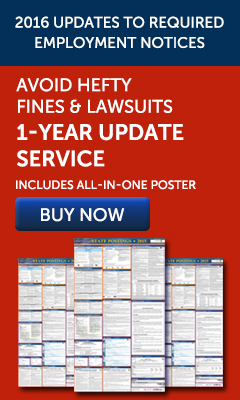2016 Labor Law Posters